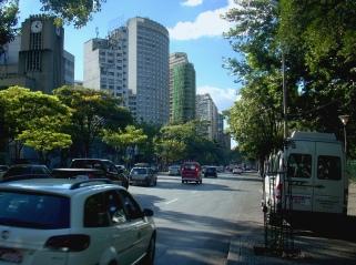 Grattacieli nel centro di Belo Horizonte