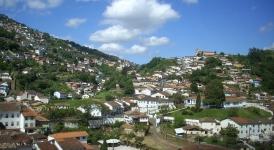 Vista di Ouro Preto
