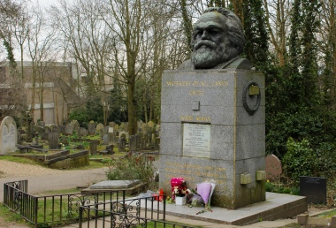 Memoriale di Karl Marx. Highgate East
