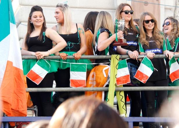 St.Patrick's day parade