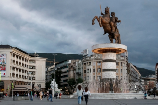 Skopje (Republic of Macedonia).