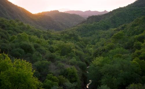 Nature reserve Aldea Luna, Jujuy Argentina
